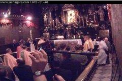 Kamerzysta w kadrze - przekazanie Światełka z Betlejem