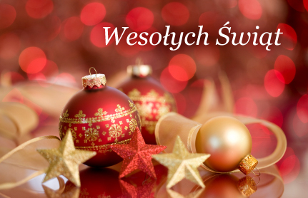 Bożonarodzeniowe pozdrowienia