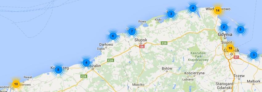 Kamery nad Bałtykiem