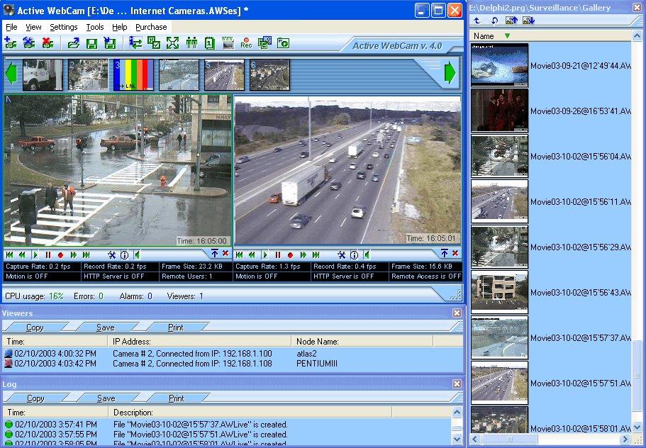 livewepcam watcher