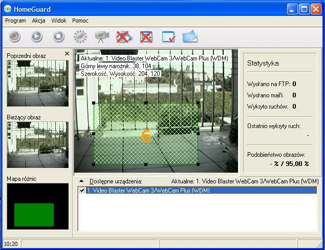 Kamera internetowa program