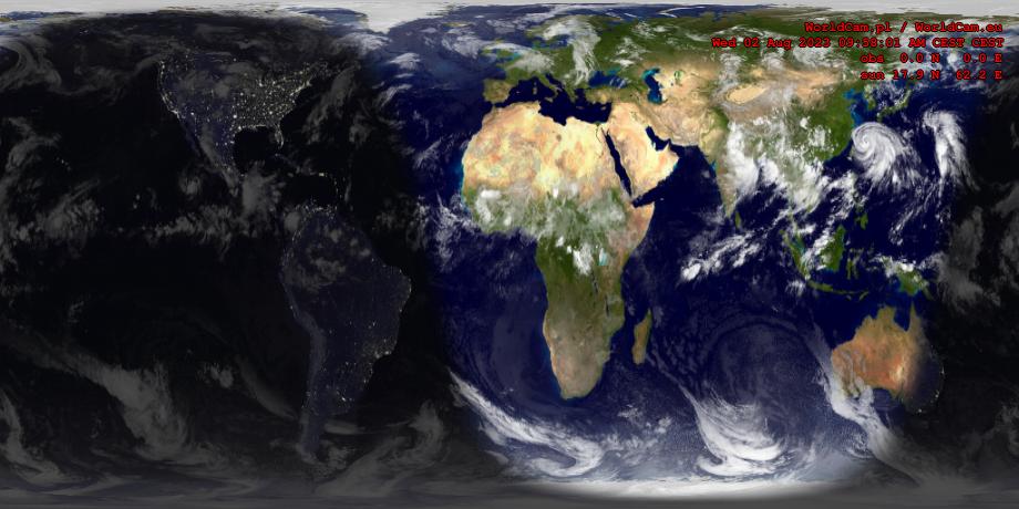 Sunlight map