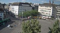 Basel - Barfüsserplatz, Marktplatz