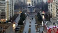 Rybinsk - Train station, panoramic view