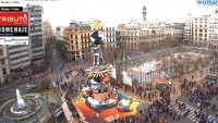 Valencia - Plaza del Ayuntamiento