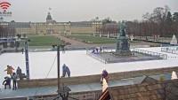 Karlsruhe - Schlossplatz - Ice rink