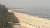 Plaża, kawiarnia