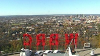 Birmingham - WBRC-TV tower - Downtown