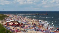Plaża, Port Jachtowy