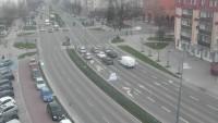 Panorama miasta, kamery drogowe