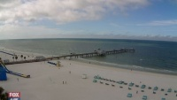 Clearwater Beach - beach & harbour