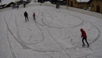 Skatepark, lodowisko