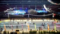 National Stadium - Ice rink