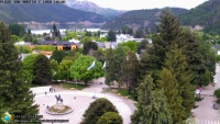 San Martín de los Andes - Plaza San Martín y Lago Lácar