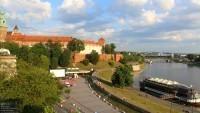 Wawel, zakole Wisły