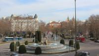 Madrid - Plaza Canovas del Castillo  - Neptune Fountain