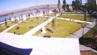 Kyzyl - Muzdramteatr, Obelisk Tsentr Azii
