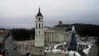 Wilno - Plac Katedralny, bazylika
