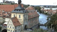 Bamberg - Bridge & town hall