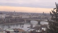 Budapest - Pest, Danube Bank, Chain Bridge