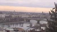 Budapest - Pest, Danube Bank, Chain Bridge