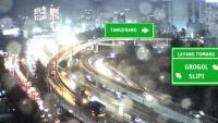 Jakarta - kamery drogowe