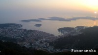 Hvar - Vue panoramique