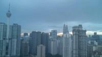 Kuala Lumpur - Petronas Towers, wieża telewizyjna Menara