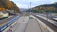 Ústí nad Orlicí - Train station