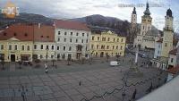 Banská Bystrica - Námestie SNP, Námestie Slobody, Panorama