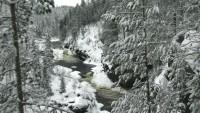 Park Narodowy Oulanka - Kiutaköngäs rapids