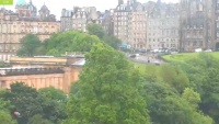 Edinburgh - Edinburgh Mound - Princes Street