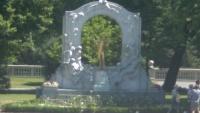 Wiedeń - Pomnik Johanna Straussa