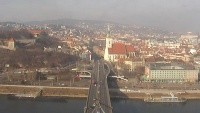 Bratislava - The Old Bridge, SNP Bridge, Apollo Bridge