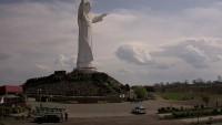 Figura Jezusa Chrystusa Króla Wszechświata