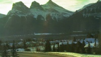 Canmore - Three Sisters