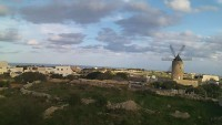 Gozo - Qala - Wiatrak