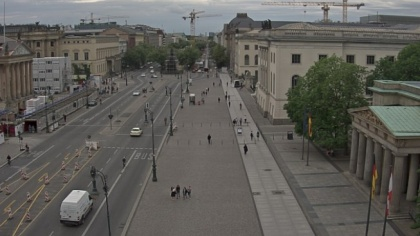 Berlin Unter Den Linden Germany Webcams