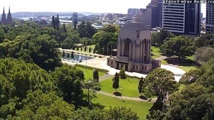 Widok Na Port Most Oraz Panorama Sydney Kamery