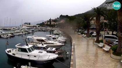 Baška Voda - Marina, Croatia - Webcams