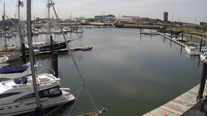 Zeebrugge - marina, Belgium - Webcams